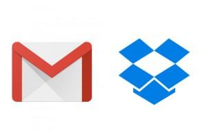 GmailとDropbox
