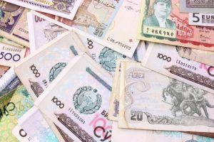 いろいろな通貨